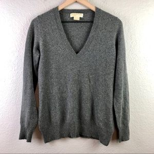 Michael Michael Kors Cashmere V-Neck Sweater